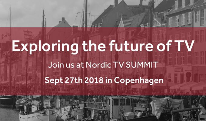 Nordic TV Summit 2018 announces speaker line-up